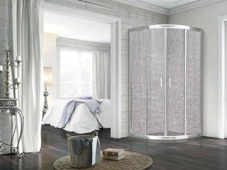 夹丝玻璃淋浴房